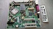 PLACA BASE HP COMPAQ P5BW-BTX 775  MOTHERBOARD + Intel Core 2Duo y chapa trasera