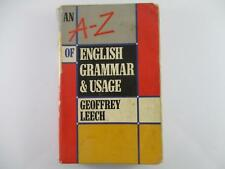 AN A-Z OF ENGLISH GRAMMAR & USAGE - GEOFFREY LEECH 1989