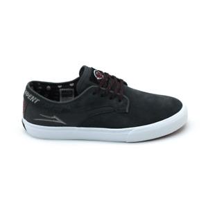 Lakai Riley Hawk x Indy - Charcoal Suede Skateboard Shoe