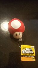 Super Mario Brothers MUSHROOM Plush Stuffed Animal-NWT
