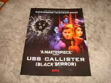 BLACK MIRROR USS Callister 2018 Emmy ad Jesse Plemons as Robert Daly & VERSACE