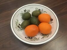 Realistic Fake Fruit LIMES ORANGES Replica Faux Food Home Staging Decor Display