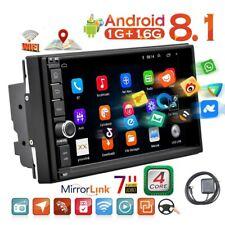 Android 8.1 Car Radio Stereo 2 Din 7 '' Reproductor de coche con pantalla táctil