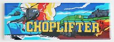 Choplifter Marquee FRIDGE MAGNET (1.5 x 4.5 inches) arcade video game helicopter