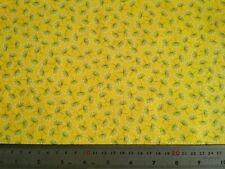 Amarillo Diente de León Tela de algodón-confección Windham de acolchar, es un cuerno