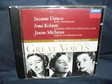 DANCO/Kolassi/MICHEAU-Great Voices of the 50 S, vol.2