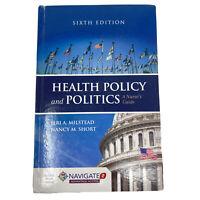 Health Policy & Politics: Nurse's Guide. Milstead & Short. 6th ed. Good