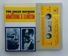 Louis Armstrong & Duke Ellington The Great Reunion Mc Musik Cassette Tape