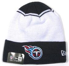 TENNESSEE TITANS NFL KNIT NEW ERA CUFFED VINTAGE BEANIE 2-TONE CAP HAT NEW!