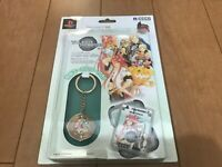 Playstation 2 PS2 TALES of THE ABYSS MemoryCard & Seal & Case keyholder HORI