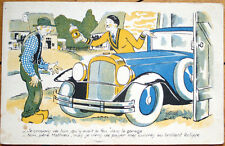 1920 Eclipse Polish Advertising Postcard w/Car/Automobile, Artist-Signed
