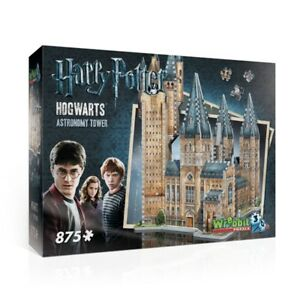 Wrebbit Harry Potter Astronomy Tower 875 Piece 3D Puzzle NEW