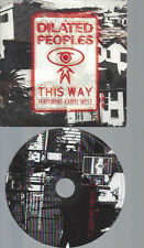 CD--DILATED PEOPLES--THIS WAY    -PROMO