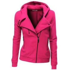Womens Hoodies Coat Jacket Tracksuit Sweatshirts Hoody Pullover Jumper Tops 6-20