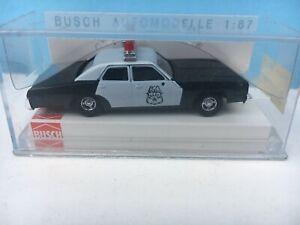 BUSCH 46609 DODGE MONACO Police Car MIP 1:87 HO Scale