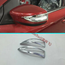 ABS Chrome Side Mirror Trim For Nissan Altima 2016 2017
