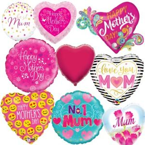 Mother's Day Mum Love Party Balloons & Decorations