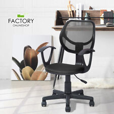 Mesh Mid-Back Office Chair Executive Computer Ergonomic Desk Seat Swivel