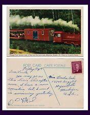 CANADA ONTARIO MUSKOKA PORTAGE FLYER RAILROAD AUGUST 21, 1953 TO WYANDOTTE, MICH
