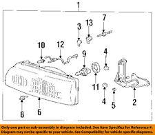 TOYOTA OEM 1994 Previa-Headlight Head Light Headlamp 8117028310