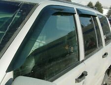 Jeep Grand Cherokee 1993 - 1998 Tape-On Wind Deflector Vent Visor Shades 4pc