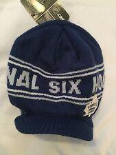 Toronto Maple Leafs NEW LADIES CCM Winter Hat With Brim .   Blue Jays WOMEN