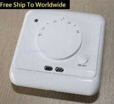 Underfloor Home Heating Electric Room Thermostat with Floor Sensor controller