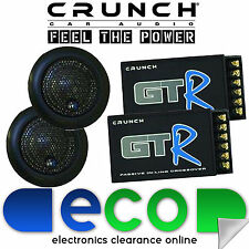 Crunch GT-R Car Stereo Tune Up Tweeters + InLine X-overs Crossovers 100 watts