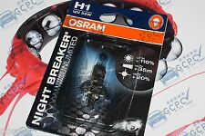 OSRAM H1 NIGHT BRAKER PLUS ILIMITADO +110% MORE LUZ - 1 BOMBILLA