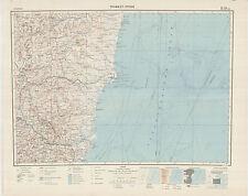 Russian Soviet Military Topographic Maps - TEOFILO OTONI (Brazil), ed.1962