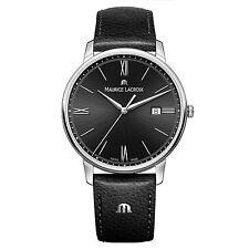 Maurice Lacroix Eliros Date Quartz Watch Black 40mm El1118-ss001-310-1