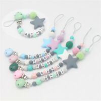 Chew Toy DIY Pacifier Chain Soother Dummy Clips Baby Teething