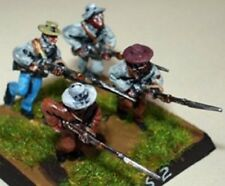 SGTS MESS CS2 1/72 Diecast ACW Confederates Charging with Bayonet-Four Soldiers