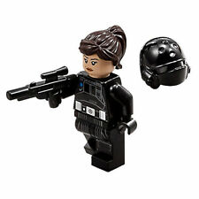 LEGO STAR WARS Rogue One Jyn Erso Imperial Disguise MINIFIG 75171 WITH HAIR