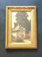 Antique Watercolour Landscape Painting, Scottish, Georgian, Victorian, Framed