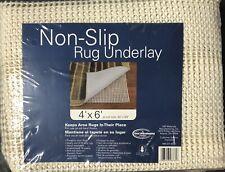 "Good Housekeeping Non-slip Rug Underlay Fits 4ft x 6ft (40""x59"") Cream"