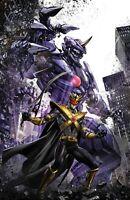 Power Rangers: Drakkon New Dawn #1 Clayton Crain Virgin Variant Set