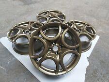 Set of 4 Alloy Wheels 7J17H2 ET39 156078674 Alfa Romeo MiTo Gold/bronze