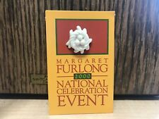 New! Porcelain Birds Nest Pin - Margaret Furlong 2000 - Nat Celebration Event