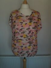 ladies camoflage print top from M&Co size 16 NEW