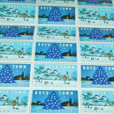 FULL SHEET BOYS TOWN NEBRASKA STAMPS FROM 1960