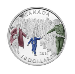 Wait for Me Daddy - 2014 Canada $10 Fine Silver Coin