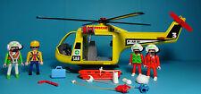 Playmobil Rescue/rescate ~ helicóptero de salvamento/Air Rescue 3 (3845) & instrucciones