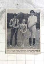 1974 Western Hunt Pony Club Competition Stuart Cargeeg, Sharon Richards, Shah