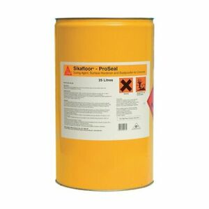Sika Sikafloor Proseal 90 Pro Seal 25L Cures Hardens Seals Concrete 25 Litre