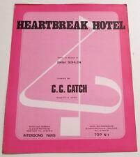 Partition sheet music CC / C.C. CATCH : Heartbreak Hotel * 80's DIETER BOHLEN