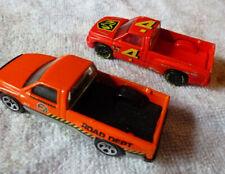 Pair of Vintage 1994 Hot Wheels Dodge Ram Pick Ups