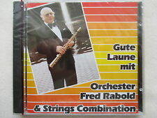 Orchestra Fred rabold & Strings Combination-good mood with CD NEW & OVP