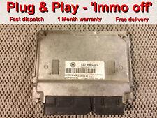 VW POLO SKODA 1.2 12 V 3cyl AWY ECU 03D906032C/5WP40124 * Plug & Play * IMMO OFF