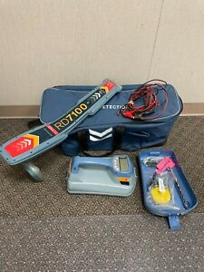 SPX Radiodetection RD7100 DL Cable & Pipe Locator w/ TX-5 Transmitter RD 7100DL